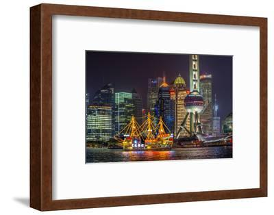 China, Shanghai, Pudong District, Financial District Including Oriental Pearl Tower