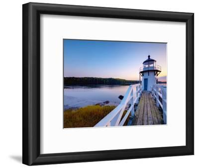 Doubling Point Light, Maine, New England, United States of America, North America