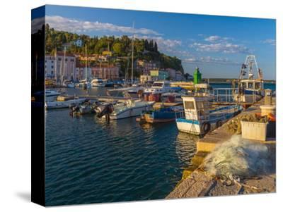 Fishing Nets and Fishing Boats, Old Town Harbour, Piran