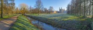 King's College Chapel, Cambridge University, the Backs, Cambridge, Cambridgeshire by Alan Copson
