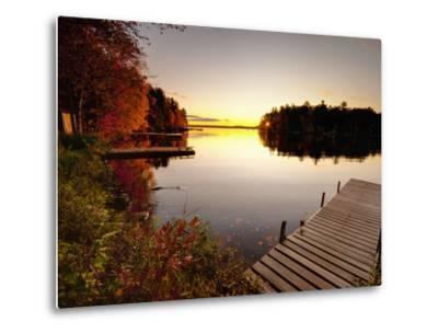 Lake Millinocket at Sunrise, Baxter State Park, Maine, New England, USA, North America