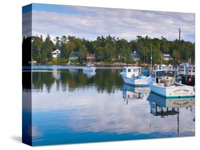Lobster Fishing Boats, Boothbay Harbor, Maine, New England, United States of America, North America