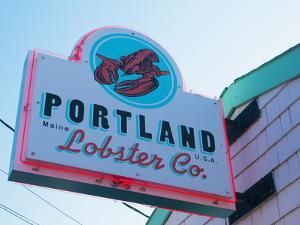 Lobster Restaurant, Portland, Maine, New England, United States of America, North America by Alan Copson