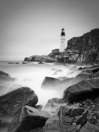 Maine, Portland, Portland Head Lighthouse, USA by Alan Copson