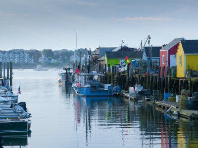 Maine, Portland, Widgery Wharf, USA
