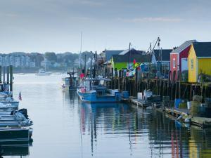 Maine, Portland, Widgery Wharf, USA by Alan Copson