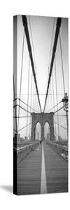 Manhattan and Brooklyn Bridge, New York City, USA by Alan Copson