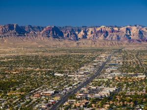 Nevada, Las Vegas, Suburbia, USA by Alan Copson