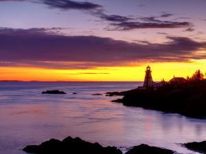 New Brunswick, Campobello Island, East Quoddy Lighthouse, Canada by Alan Copson