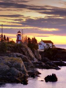 New Brunswick, Campobello Island, East Quoddy Lighthouse, Canada by Alan Copson