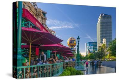 Paris Las Vegas Hotel and Casino on Left and the Cosmopolitan on Right