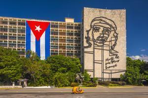 Plaza De La Revolucion, Vedado, Havana, Cuba, West Indies, Caribbean, Central America by Alan Copson