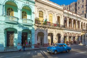 Prado (Paseo De Marti), La Habana Vieja (Old Havana), Havana, Cuba, West Indies, Caribbean by Alan Copson