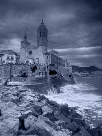 Sitges, Sant Bartomeu I Santa Tecla Church, Catalonia, Spain