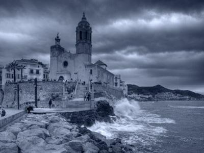 Sitges, Sant Bartomeu I Santa Tecla Church, Catalonia, Spain by Alan Copson