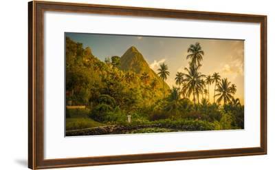 St Lucia, Soufriere, Sugar Beach Resort, Formerly Jalousie Plantation Resort and Gros Piton