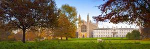 UK, England, Cambridgeshire, Cambridge, the Backs, King's College Chapel by Alan Copson