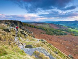 UK, England, Derbyshire, Peak District National Park, Stanage Edge by Alan Copson