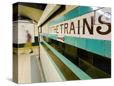 UK, England, London, Russell Square Underground Station