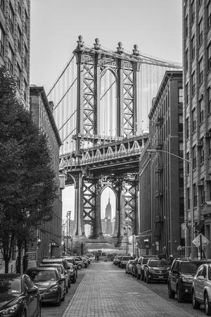 Usa, New York, Brooklyn, Dumbo, Manhattan Bridge