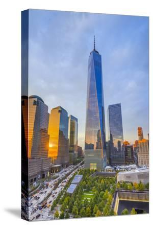 Usa, New York, Manhattan, Downtown, World Trade Center, Freedom Tower or One World Trade Center