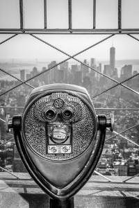 Usa, New York, Manhattan, Lower Manhattan from Empire State Building, Freedom Tower in Background by Alan Copson