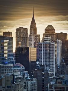 USA, New York, Manhattan, Midtown, Chrysler Building by Alan Copson