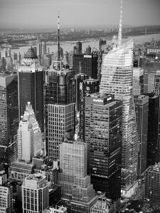 USA, New York, Manhattan, Midtown Skyline by Alan Copson