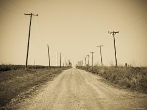 USA, Texas, Route 66, Abandoned Town of Jericho by Alan Copson