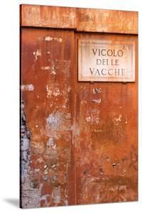 Vicolo Delle Vacche by Alan Copson