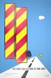 Yield, 1968 by Alan D'Arcangelo