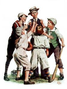 """""""Arguing the Call,""""August 30, 1930 by Alan Foster"""
