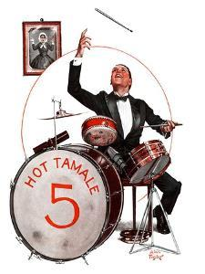 """""""Hot Tamale Five,""""August 22, 1925 by Alan Foster"""