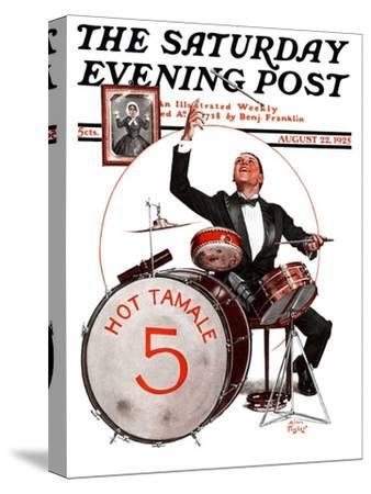 """""""Hot Tamale Five,"""" Saturday Evening Post Cover, August 22, 1925"""