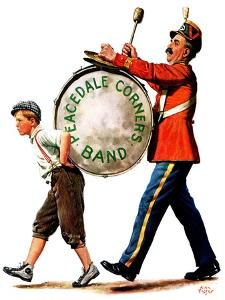 """""""Peacedale Corners Band,""""October 20, 1928 by Alan Foster"""