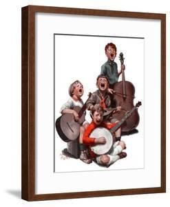 """String Quartet,""January 20, 1923 by Alan Foster"