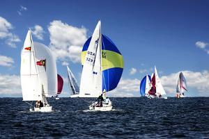 A Perfect Sail II by Alan Hausenflock