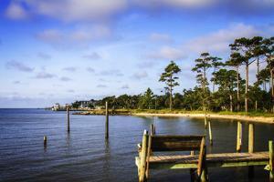 Cedar Island Bay by Alan Hausenflock