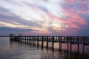 Dockside Sunset 3 by Alan Hausenflock