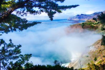 Fog Over Big Sur by Alan Hausenflock