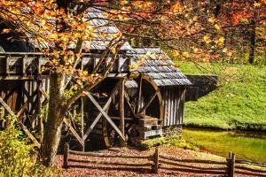 Mabry Mill IV by Alan Hausenflock