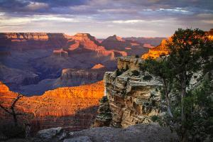 Mather Point Sunset I by Alan Hausenflock