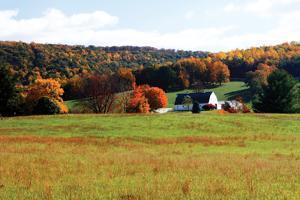 Mountain Farm 2 by Alan Hausenflock