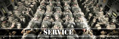 Service by Alan Hausenflock