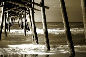 Under the Pier II by Alan Hausenflock