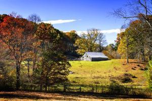 Weathered Barn by Alan Hausenflock