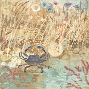 Floral Frenzy Coastal I by Alan Hopfensperger