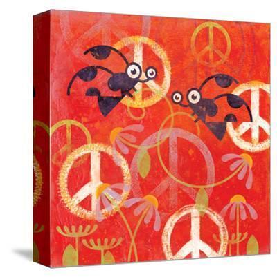 Peace Sign Ladybugs I