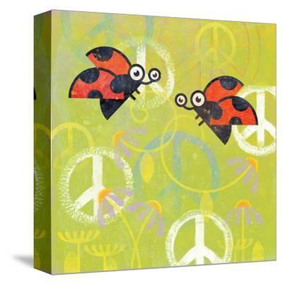 Peace Sign Ladybugs III