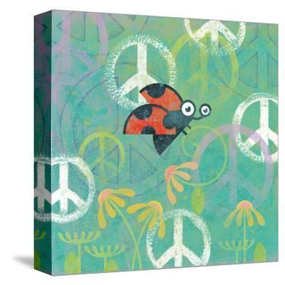Peace Sign Ladybugs IV